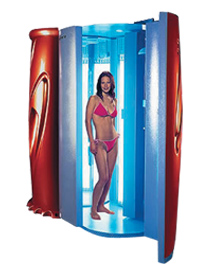 Standup Fast Tan Sunbed - Read more...